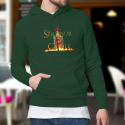 Maglione di cotone con cappuccio - Le Seigneur de la Gnôle