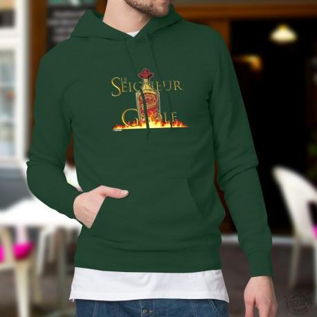 Cotton Hoodie T-Shirt -Le Seigneur de la Gnôle