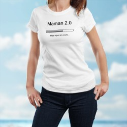 Women's fashion Funny T-Shirt - Maman 2.0