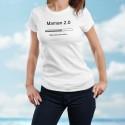 Lustig T-shirt - Maman 2.0