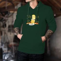 Cotton Hoodie T-Shirt - Le Seigneur de la Raclette