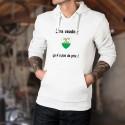 Être Vaudois ▶ ça n'a pas de prix ◀ Pull à capuche mode homme