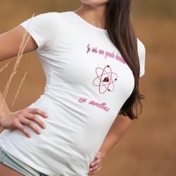 Je suis une grande chercheuse ❤ en moelleux ❤ Damenmode T-shirt