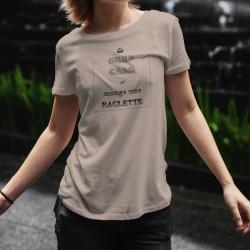 T-Shirt - KEEP CALM et mange une RACLETTE