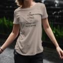 KEEP CALM et mange une RACLETTE ★ T-shirt décontracté dame