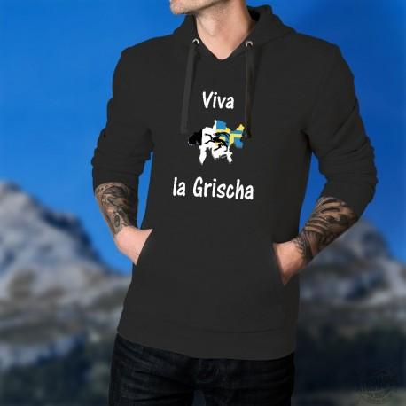 Viva la Grischa ★ Men's Cotton Hoodie