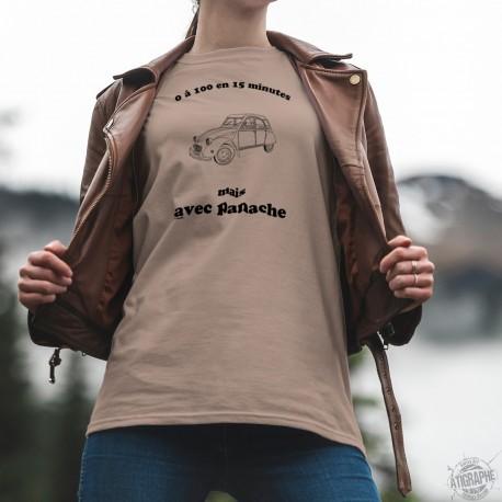 T-Shirt - Citroën 2 Chevaux ★ 0 à 100 en 15 minutes ★