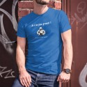 Je n'ai pas grossi ★ Bouddha ★ T-Shirt coton homme