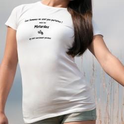 ❤ Les femmes ne sont pas parfaites ! mais les Motardes en sont sacrément proches ❤ T-Shirt dame - moto chopper