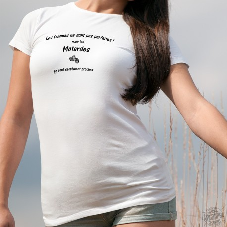 T-shirt - La femme Motarde presque parfaite