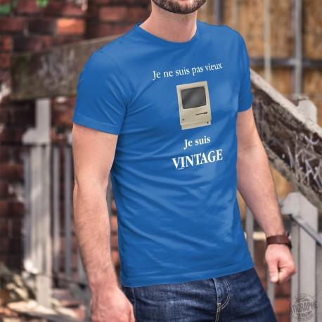 Men's cotton T-Shirt - Vintage Apple Macintosh ★