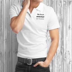 Uomo Polo Shirt - Mon fils est adoléchiant, mais...