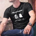 cotone T-Shirt - Que le Fendant soit avec Toi ★ Yoda ★
