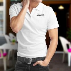 Polo Shirt - Absinthe un jour, Absinthe toujours ★