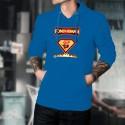 Fondueman ★ comics super héros ★ Pull à capuche coton homme