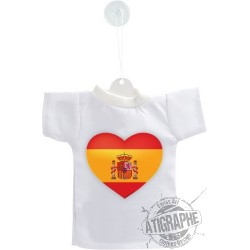 Car's Mini T-shirt - Spanish Heart