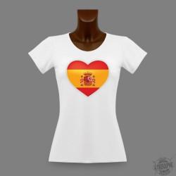 T-Shirt slim - Coeur espagnol