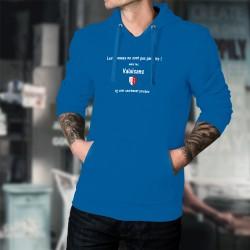 Maglione di cotone con cappuccio - Valaisan, l'Homme parfait