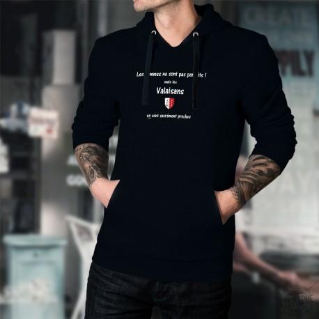 Cotton Hoodie T-Shirt - Valaisan, l'Homme parfait