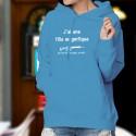 Cotton Hoodie T-Shirt - J'ai une fille magnifique, un Fass 90... ★