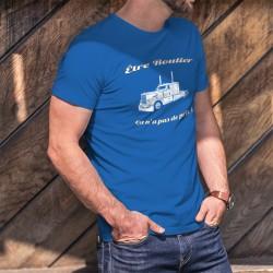 Men's cotton T-Shirt - Etre Routier ★ ça n'a pas de prix ! ★