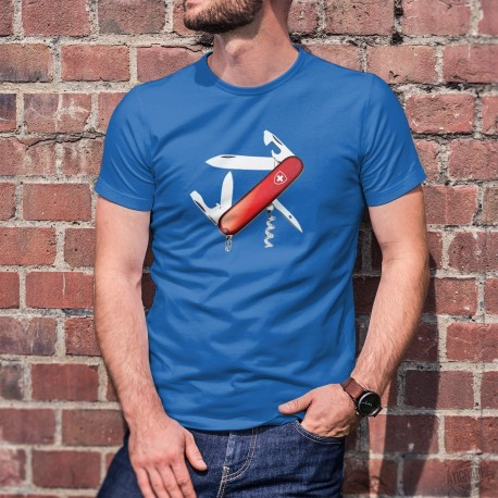 Swiss Army Knife ✚ Men's Fashion cotton T-Shirt