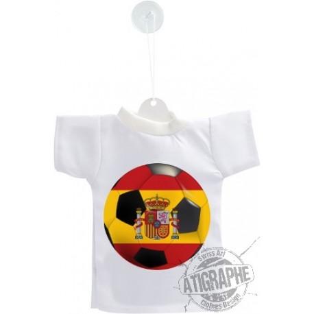 Mini T-Shirt - ballon espagnol - pour voiture