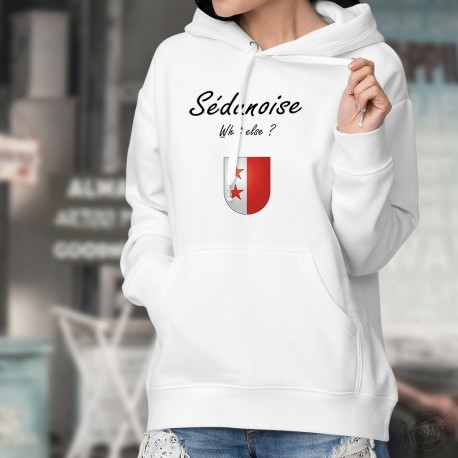 Kapuzen-Sweatshirt ★ Sédunoise What else ? ★