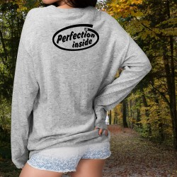 Perfection inside ★ Frauen Pullover
