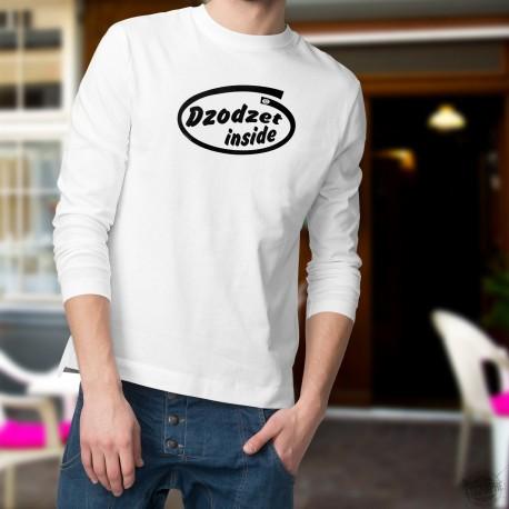 Men's Funny Sweatshirt - Dzodzet inside