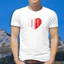 Coeur valaisan ★ T-Shirt homme