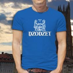 Dodzet depuis 1481 ★ T-Shirt coton homme inspiré du logo Cardinal, célèbre marque de bière du canton de Fribourg