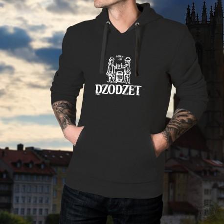 Dzodzet ★ depuis 1481 ★ Pull à capuche coton homme inspiré du logo Cardinal, célèbre marque de bière du canton de Fribourg