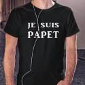 Men's Fashion cotton T-Shirt - Je suis PAPET