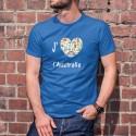 J'aime l'Australie ❤ Men's cotton T-Shirt for Australia