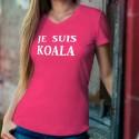 Je suis KOALA ❤ T-Shirt coton dame pour l'Australie