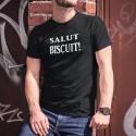 Salut biscuit ! ★ T-Shirt humoristique coton homme