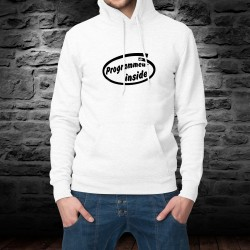 Hooded Funny Sweat - Programmeur inside