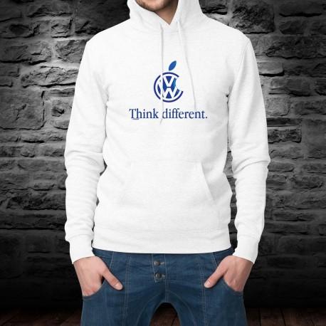 Volkswagen Think different ★ penser différemment ★ Pull à capuche homme inspiré de la marque de smartphone