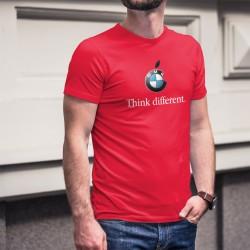 BMW Think different ★ Denke anders ★ Herren Mode Baumwolle T-Shirt