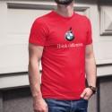 BMW Think different ★ penser différemment ★ T-Shirt coton homme