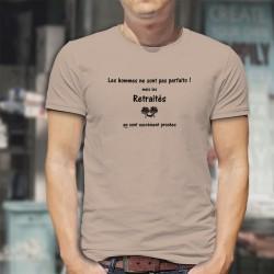 Retraité, l'homme presque parfait ★ T-Shirt avec un homme faisant la sieste dans un hamac sous les arbres