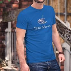 Subaru Think different ★ Denke anders ★ Herren Mode Baumwolle T-Shirt