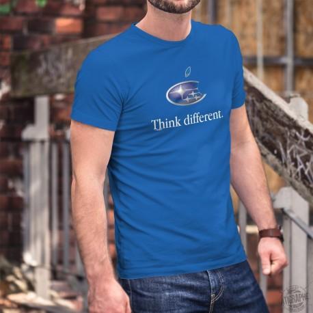 Subaru Think different ★ Pensa diversamente ★ Uomo Moda cotone T-Shirt