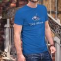 Subaru Think different ★ penser différemment ★ T-Shirt coton homme