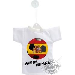 Calcio Mini T-Shirt - Vamos España - per automobile