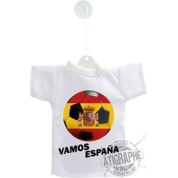 Mini T-Shirt - Vamos España - Autodekoration