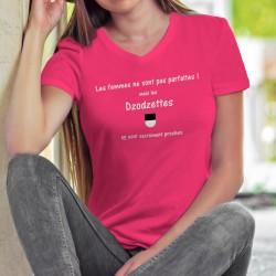 Women's cotton T-Shirt - Dzodzette ❤ la femme presque parfaite ❤