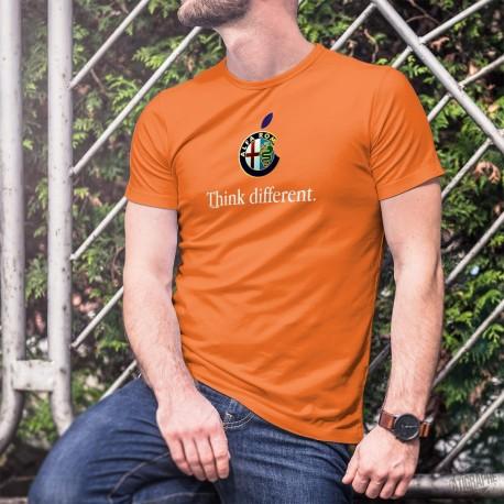 Alfa Romeo Think different ★ Men's cotton T-Shirt