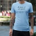 Aide-soignante ★ Super Pouvoir ★ T-Shirt décontracté homme